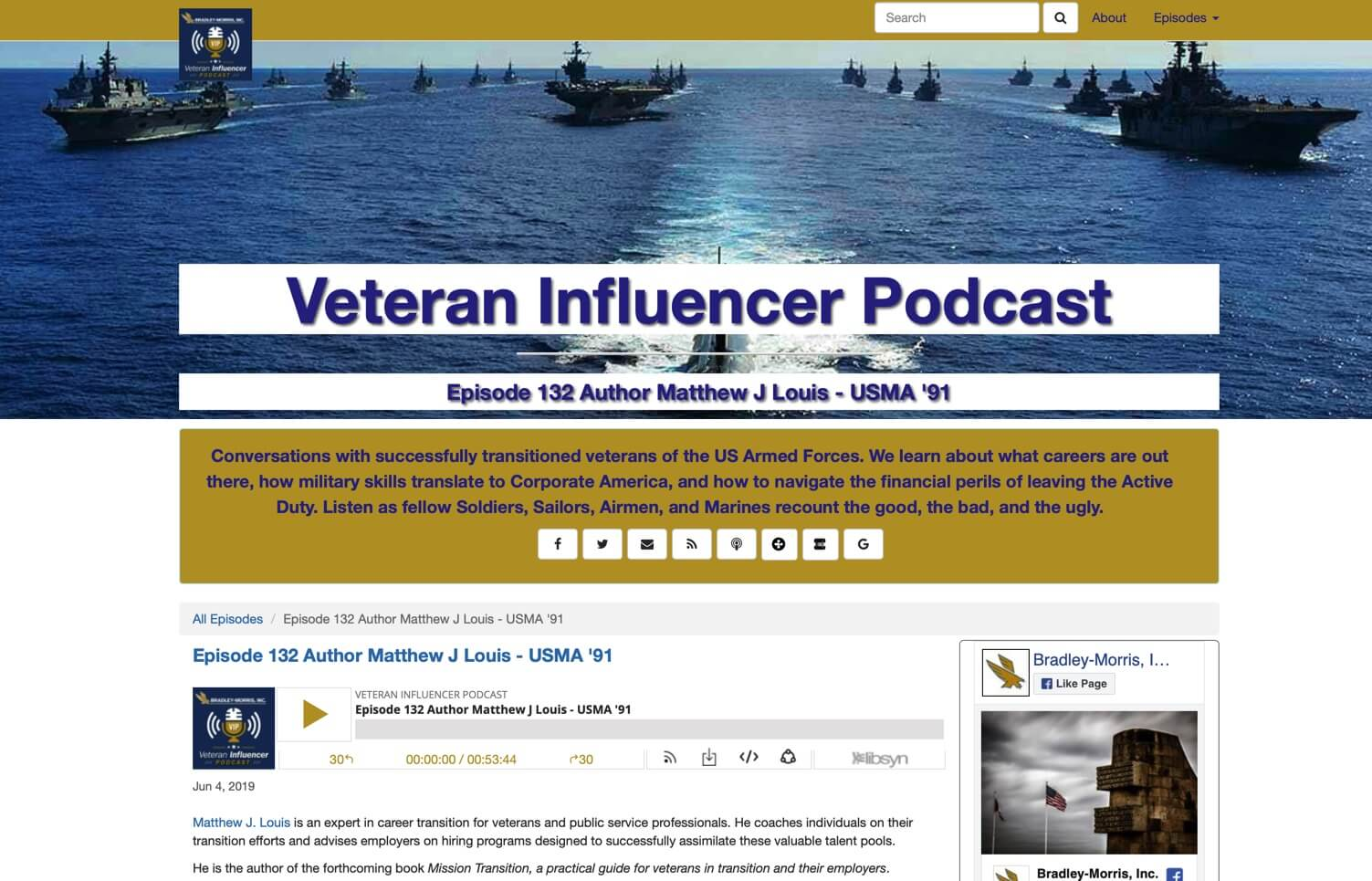 Welcome Veteran Influencer Listeners