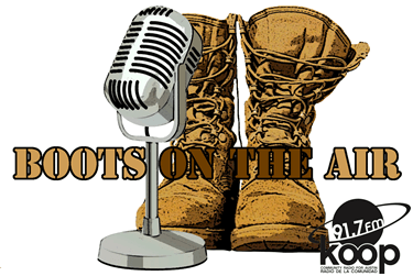 Interview with:  KOOP 91.7 FM Austin, Texas