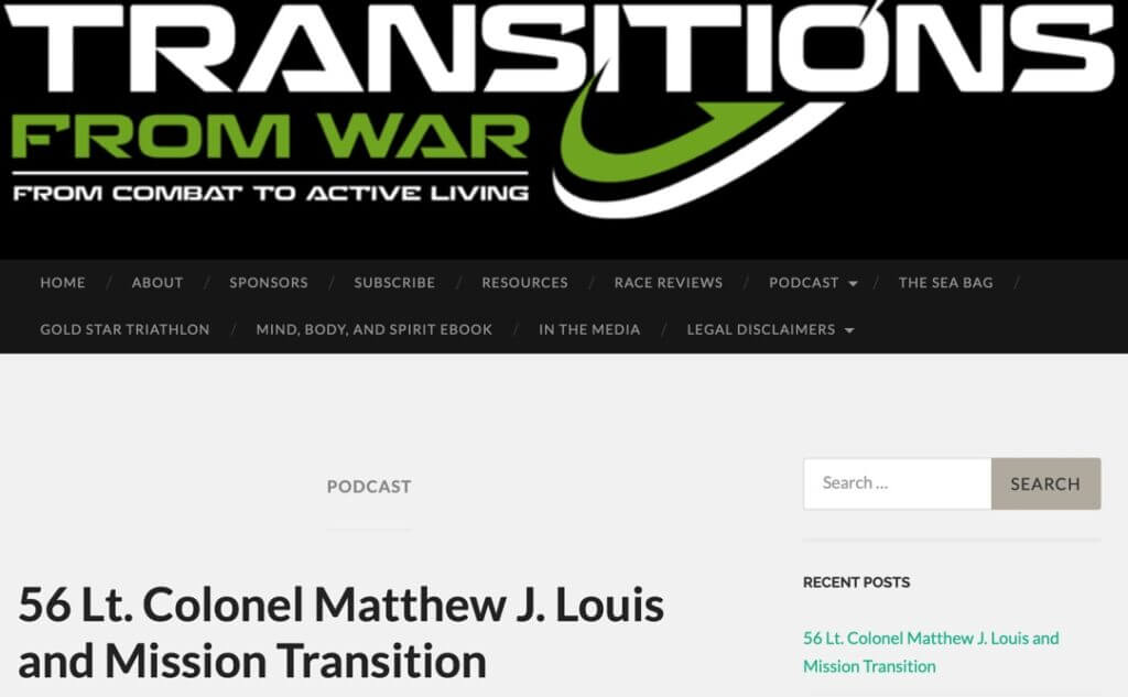 Welcome Transitions From War Listeners