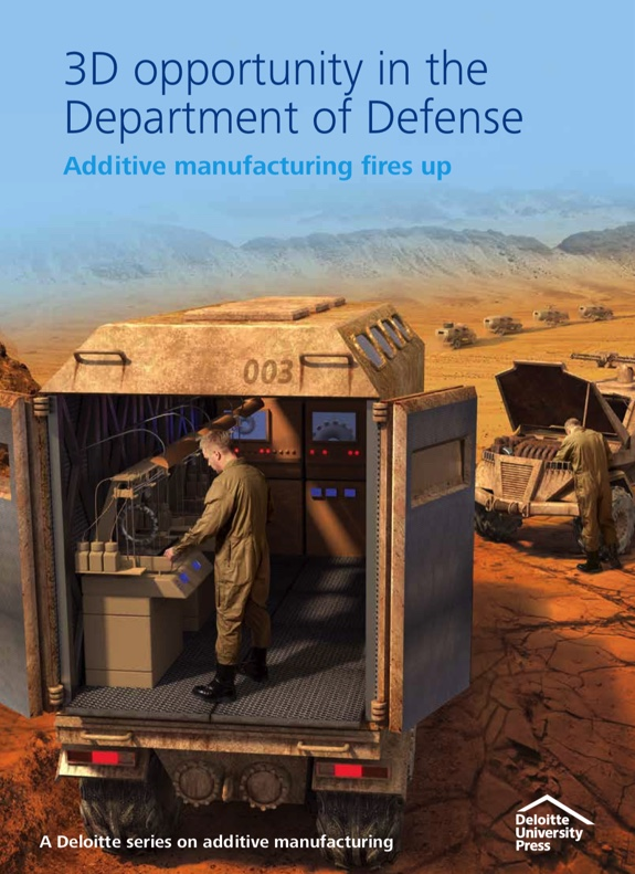 White Paper on Additive Manufacturing in DoD