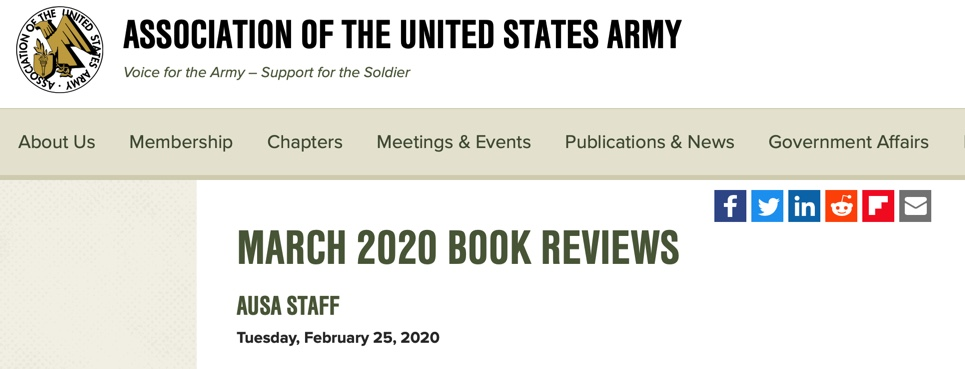 Army Magazine Book Review