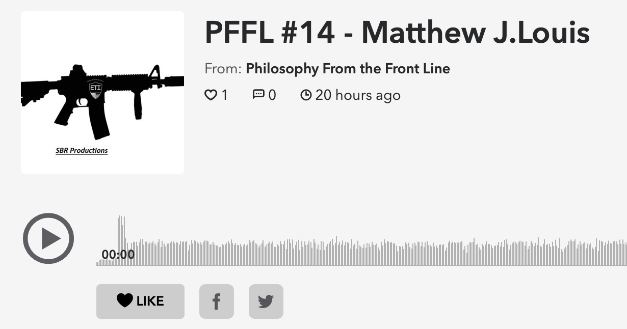 Philosophy From the Front Line Podcast